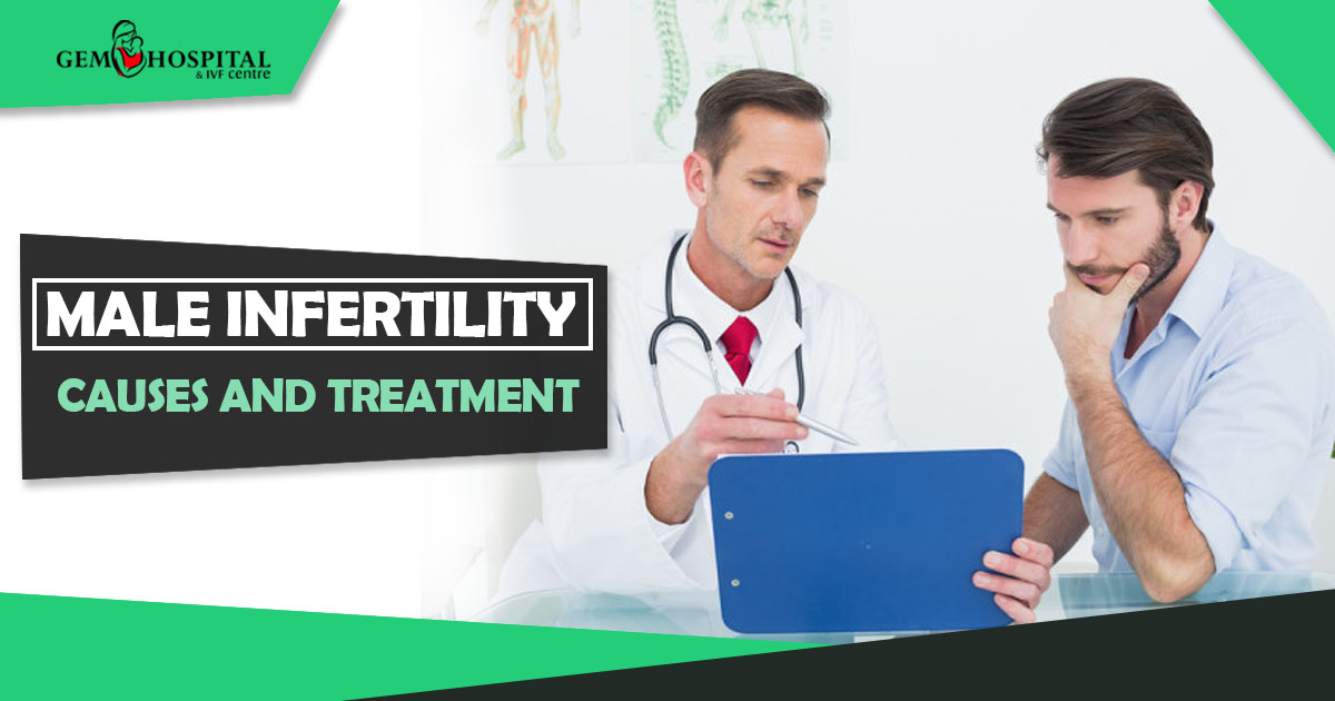 Male Infertility causes and treatment - Gem Hospital and IVF centre