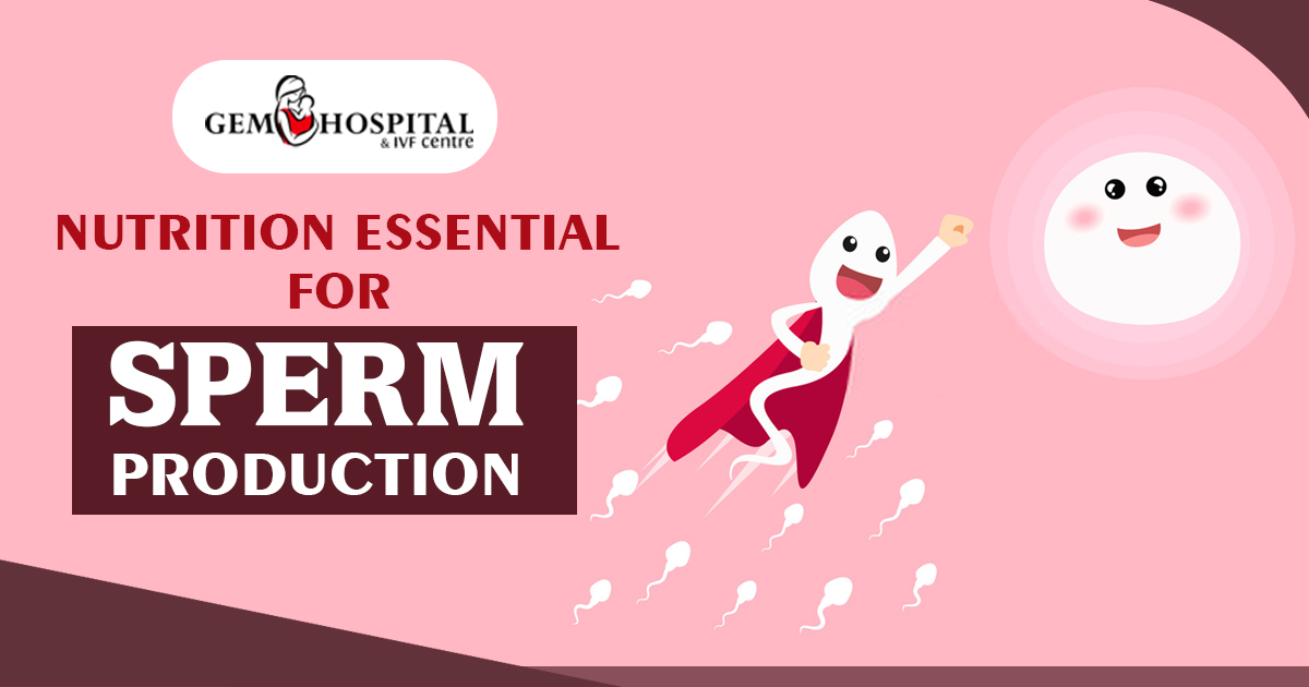 Nutrition essential for Sperm Production