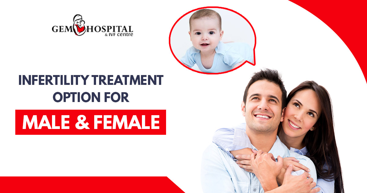 Infertility treatment option for male & female