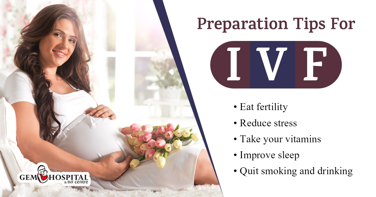 Preparation tips for IVF