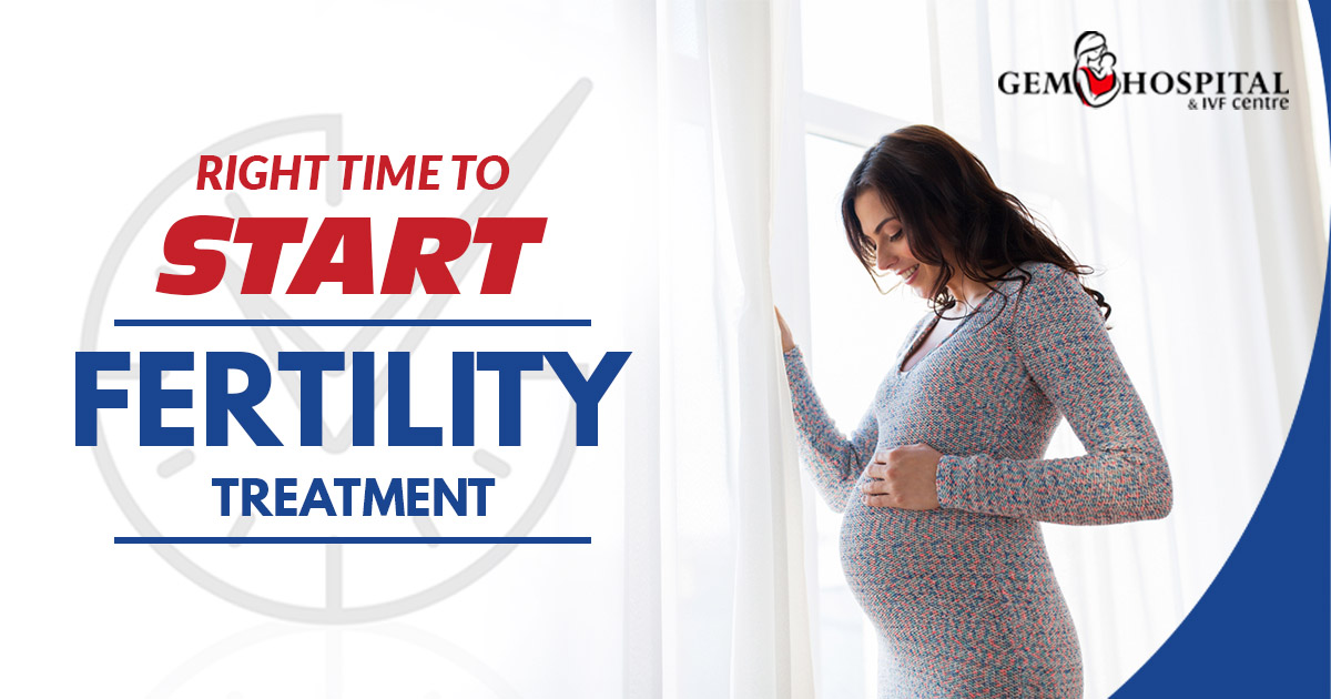 Right time to start fertility treatment