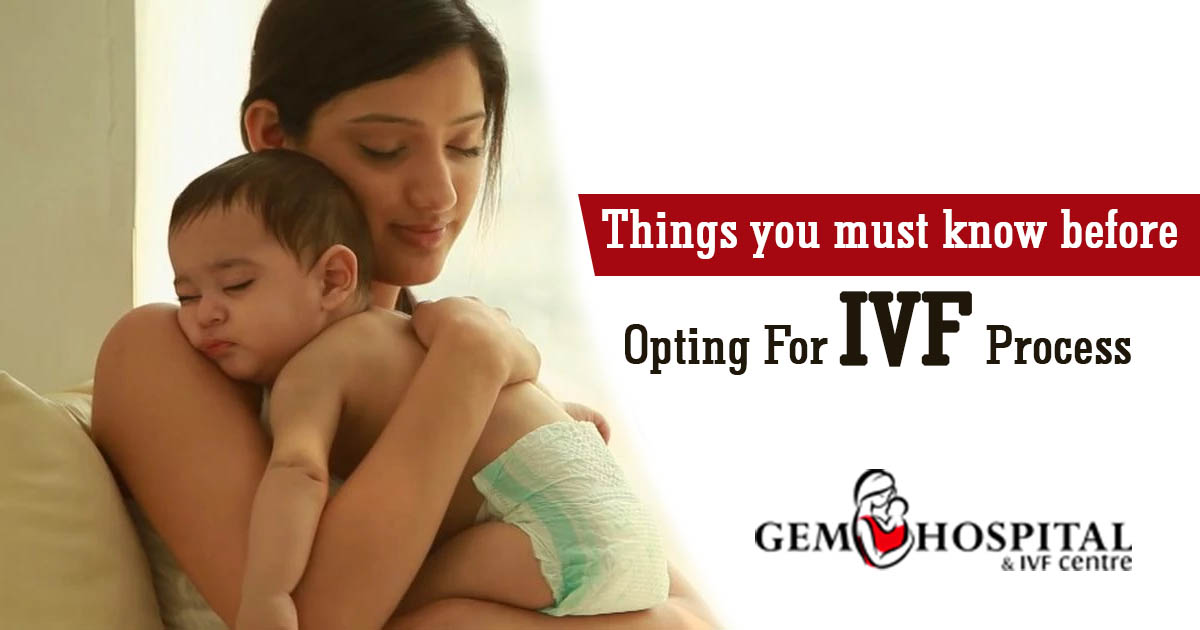 Things you must know before opting for IVF process