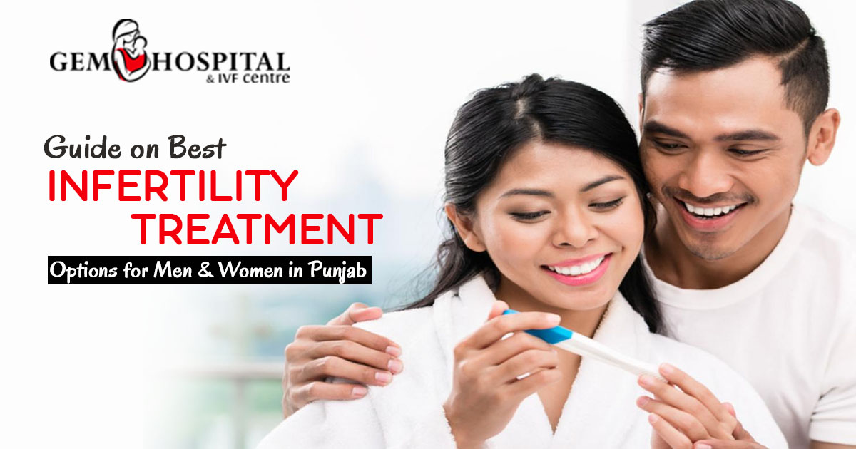 Guide on best Infertility Treatment Options for Men & Women in Punjab