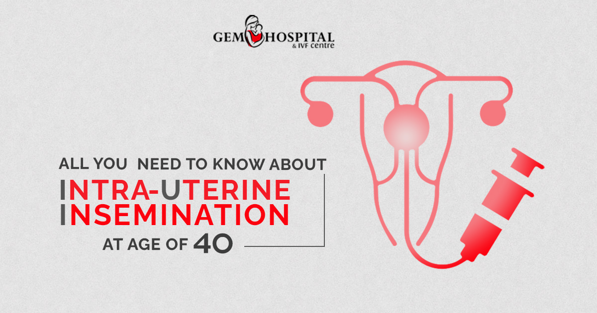 What do you need to know about Intrauterine Insemination at the age of 40