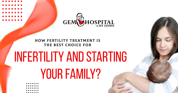 How fertility treatment is the best choice for infertility and starting your family